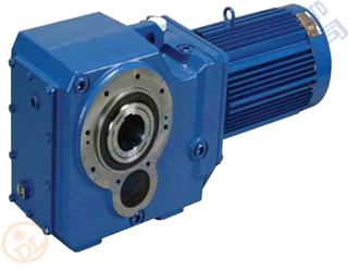 Bevel Helical Geared Motor 3.7kw ratio 120:1