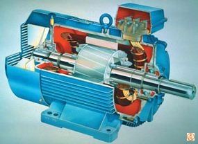 Explain the construction and working of an electric motor