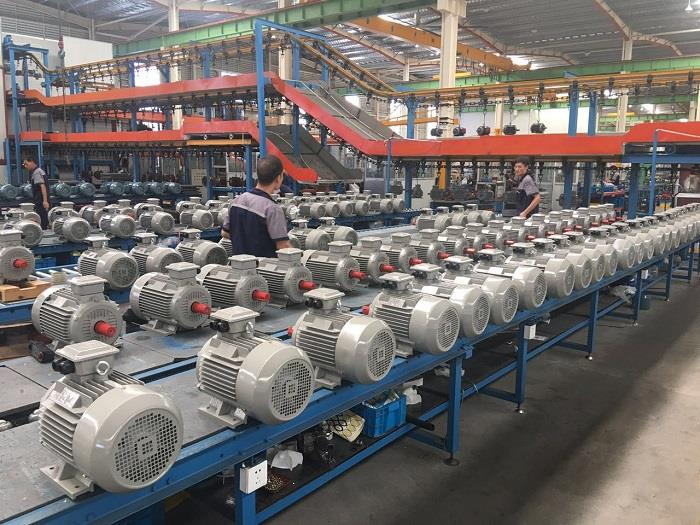 AC Motor Manufacturing Process Flow (Electric Motors)